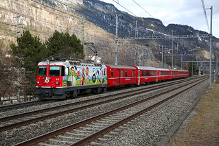 RhB Ge4/4II 611 - Haldenstein | by swistrail