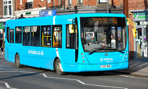 Arriva North East: 1923 / YJ57BVB | by danielgrahamm