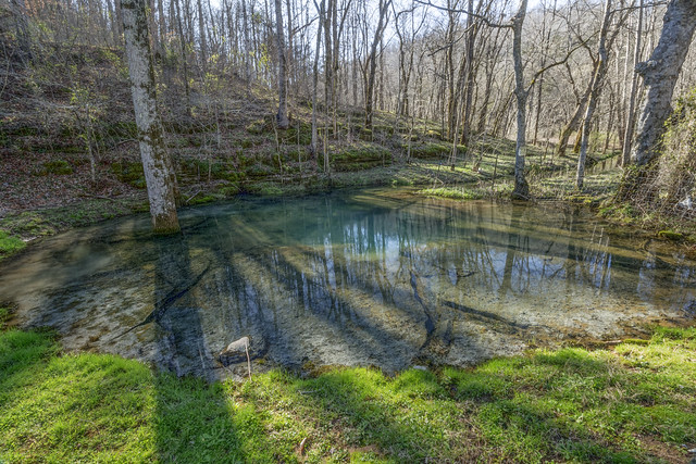 McBroom Branch Blue Hole, Putnam County, Tennessee 2