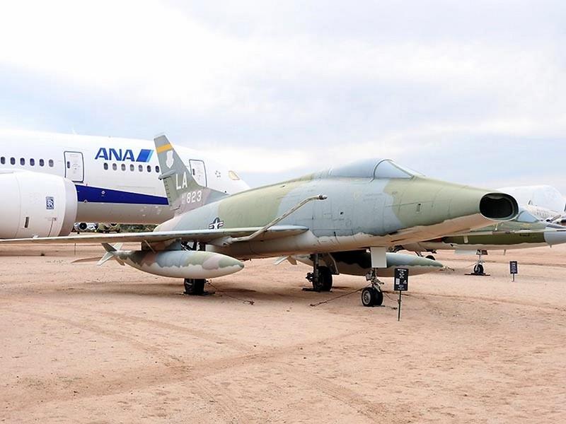 North American F-100 viz-15-NA Super Sabre 1