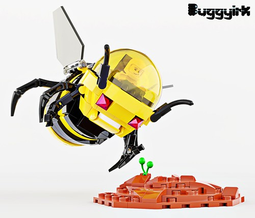 1 Terraforming Bee Spaceship Mech TERRA FB 1
