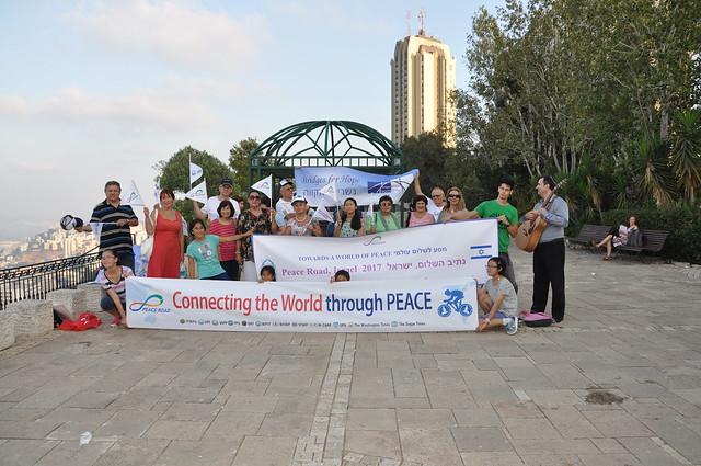Israel-2017-08-12-'Peace Road' in Israel