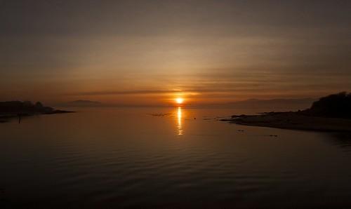 Sunset Crana River | by leppre