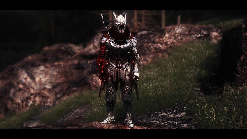 Skyrim LE - BDO Gavi Regan Armor | Antique Dragon ENB Black