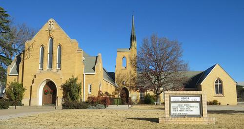 brick architecturaldetails architecture smalltown ozona texas church
