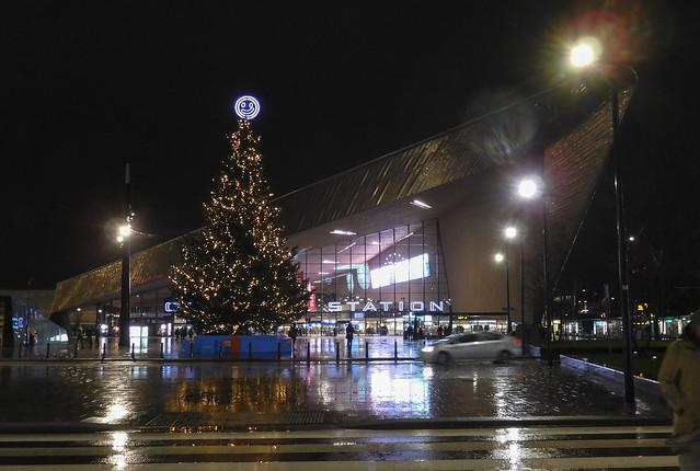 Rotterdam Centraal Station night (#0849)