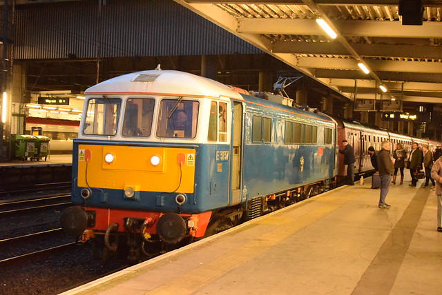 BR 86259 @ London Euston train station