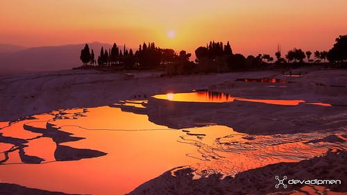 ancientspace denizli hierapolis landscape landscapephotographer naturalpark naturephotographer pamukkkale sunset türkiye