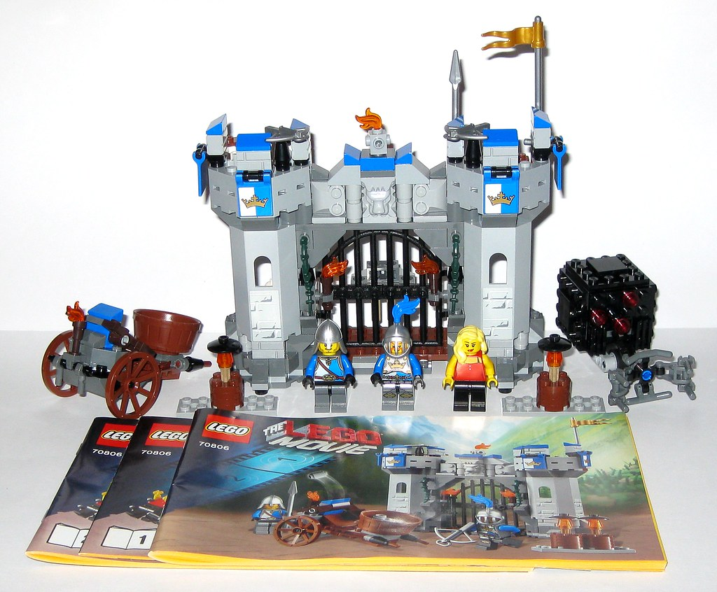Lego 70806 The Lego Movie Castle Cavalry 2014 B Tjparkside Flickr