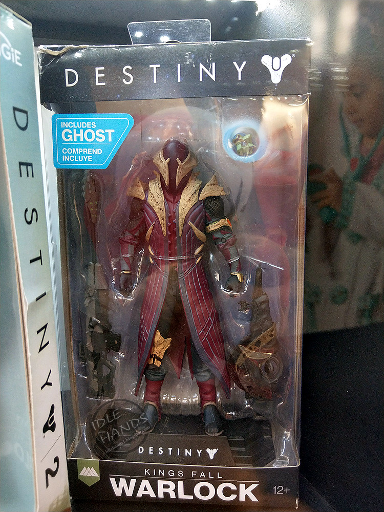 Destiny McFarlane Toys Kings Fall Warlock Collectible Action Figure New