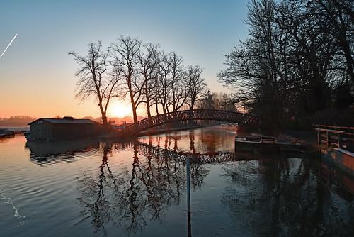 riverthames oxford medleybridge binsey nikond810 sunrise