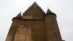 Vianden, Chateau Vianden - North Wall [05.04.2014]