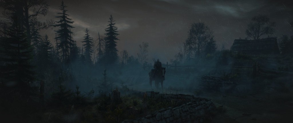 The Witcher 3   Reshade Volumetric clouds over Skellige Ulti