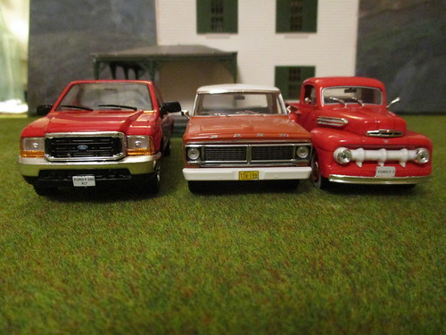 Brazilian Ford F-Series Line-up by IXO | by IFHP97