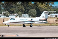 LV-WLG SAZM-MDQ Learjet 25D Cedma