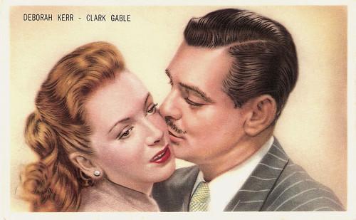 Deborah Kerr and Clark Gable in The Hucksters (1947)