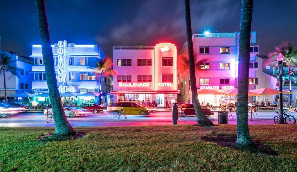 miami art deco district | miami beach architectural
