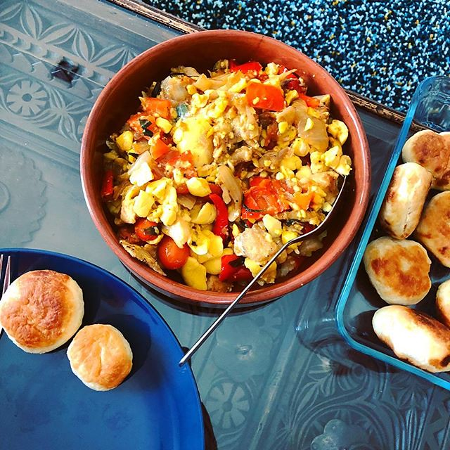 Homemade Ackee and salt fish, yes please! #brunch #homemad…   Flickr