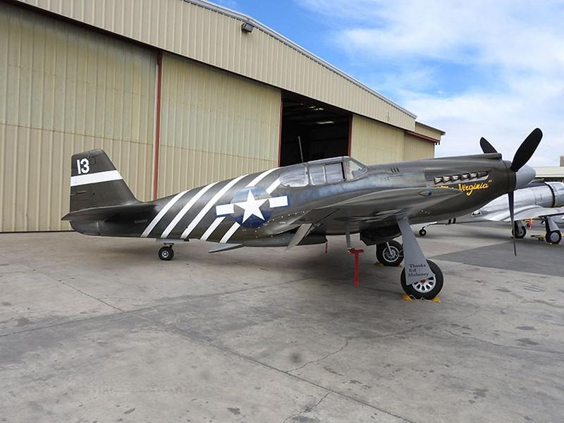 North American P-51A-10-NA Mustang 1