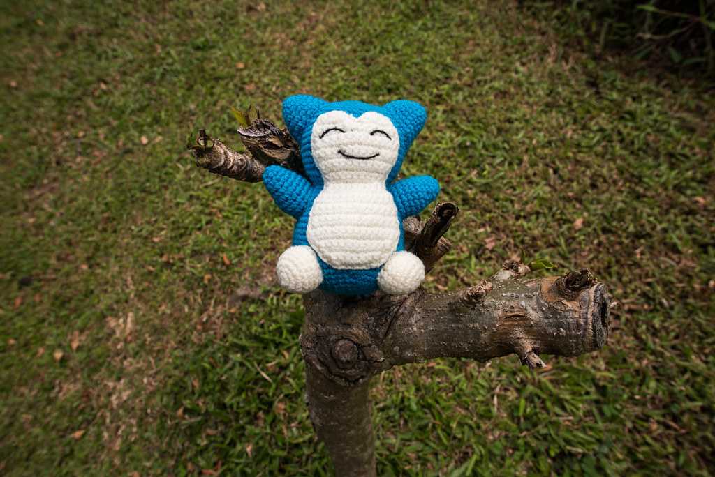 Crochet Snorlax   AllFreeCrochet.com   684x1024