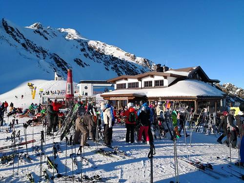 Rotkoglhütte at 2,662m | by A. Wee