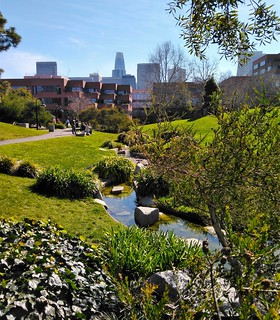 Salesforce viewed from the Levi Strauss garden | by Apollo's Light