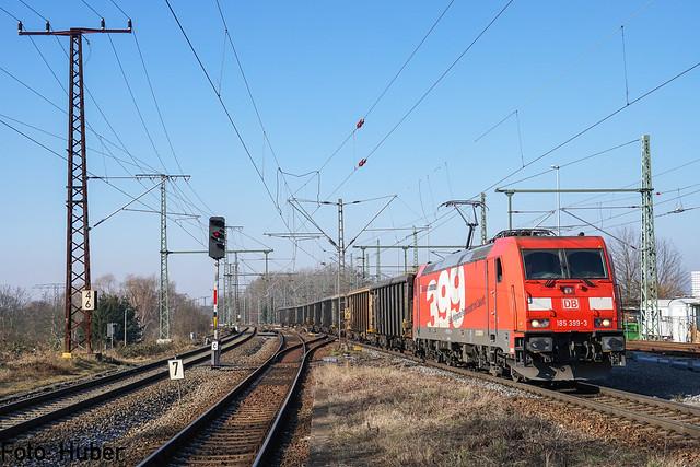 185 399 DB Cargo | Leipzig-Thekla | Februar 2018