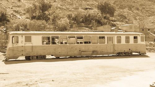 Alter Eisenbahnwaggon von Copiapó | by simon.monai