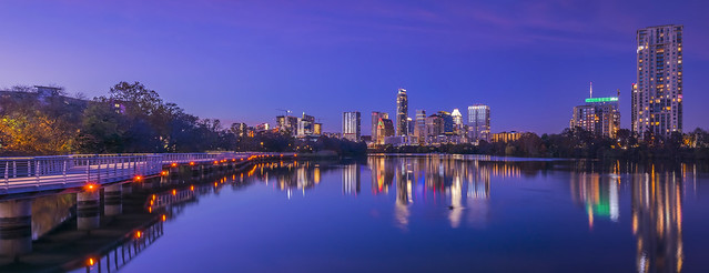 Austin, Texas at Night