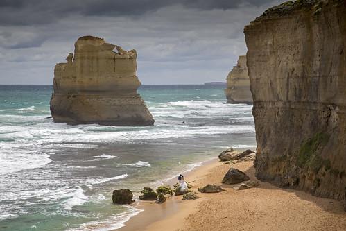 Getting married at the Gibson Steps (Great Ocean Road), Australia   by Tim van Woensel