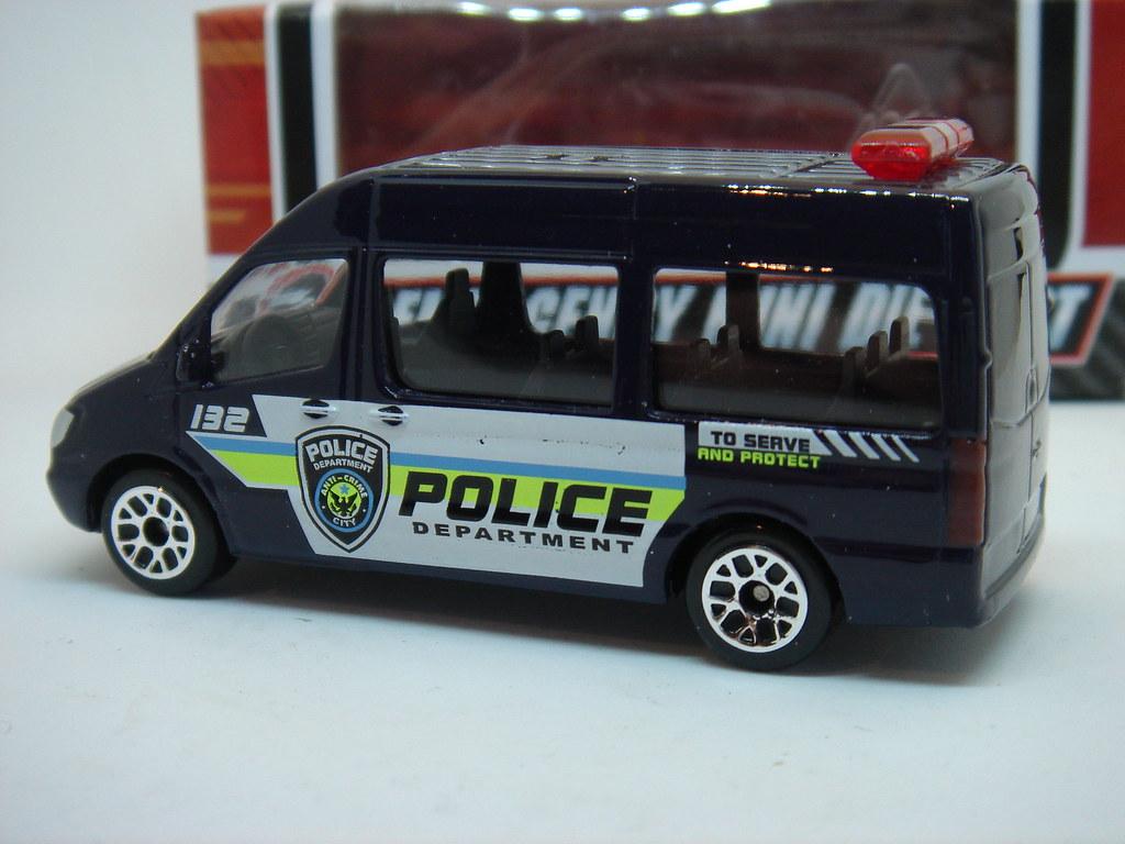 REALTOY MERCEDES-BENZ SPRINTER MK2 NO22 POLICE DEPARTMENT ...