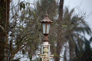 Ancient lamp of palace..