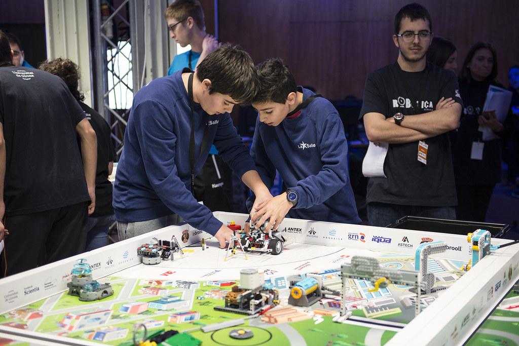 First Lego League 2018 | First Lego League, Escola Politècni