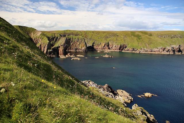 The coast west of Portskerra