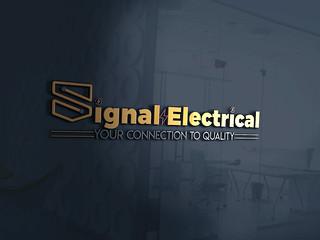 Signal Electriclal Logo By mahinul000