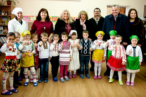 Green energy used at school in the village of Cotul Morii, Moldova