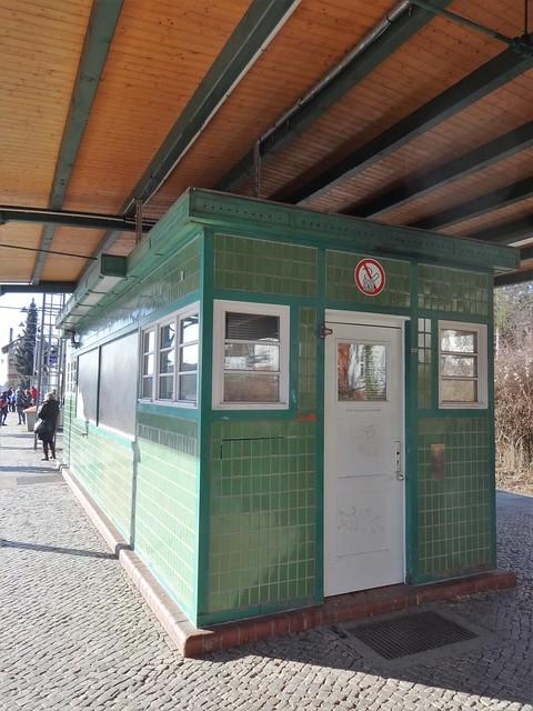 1872 Berlin Bahnsteigaufsicht S-Bahnhof Lichterfelde-West S1 Knesebeckstraße/Hans-Sachs-Straße 4d in 12205 Lichterfelde