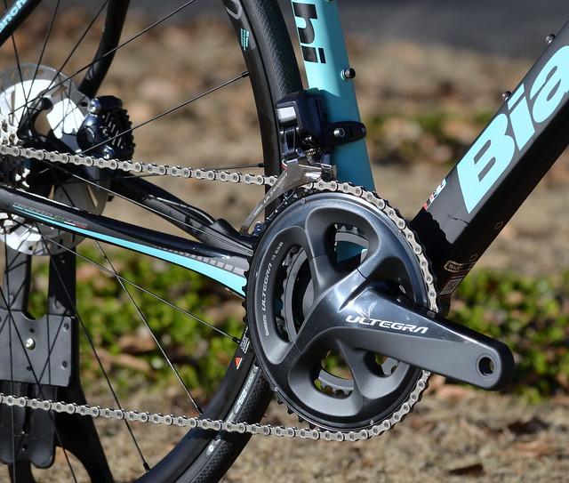Bianchi Infinito CV Disc 2018 Ultegra Di2 8070 Complete Bike