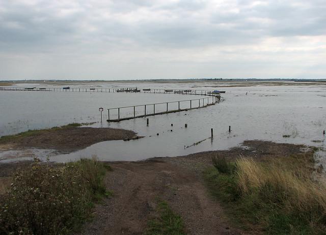 Hamford Water National Nature Reserve near Dovercourt
