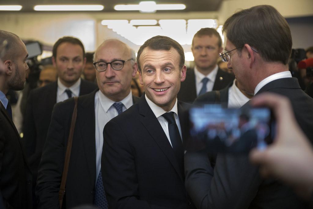 President Macron | The french president Emmanuel Macron pass… | Flickr