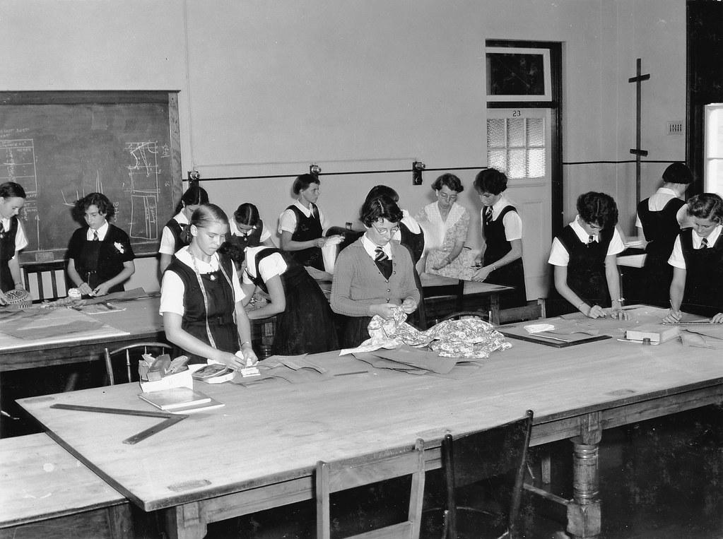 State High School, Domestic Science, Dressmaking - Brisban