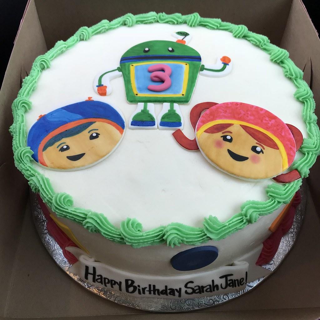 Excellent Team Umizoomi Birthday Cake Kimberly B Flickr Personalised Birthday Cards Arneslily Jamesorg