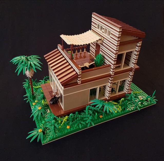 Cocoa Jungle Cottage MOC (IV)