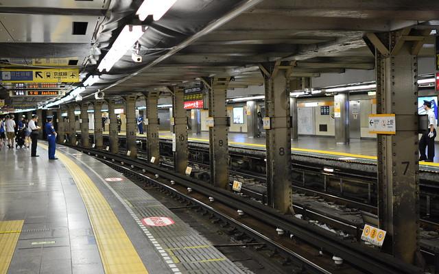 日本東京上野車站