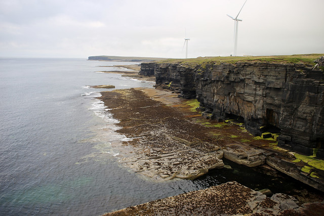 The coast at Forss, Caithness