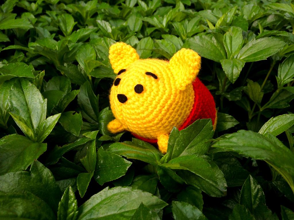 Tsum Tsum Winnie The Pooh Amigurumi Winnie The Pooh Has Be Flickr