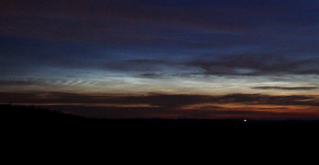 Noctilucent Clouds from Oxfordshire, 2:50am 17/06/15
