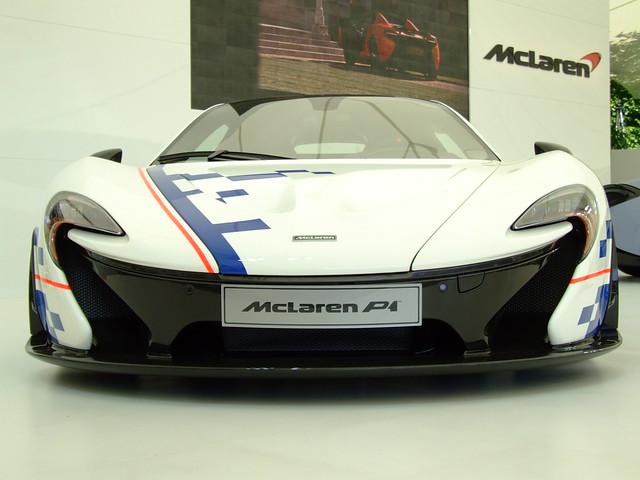 McLaren P1 MSO Alain PROST