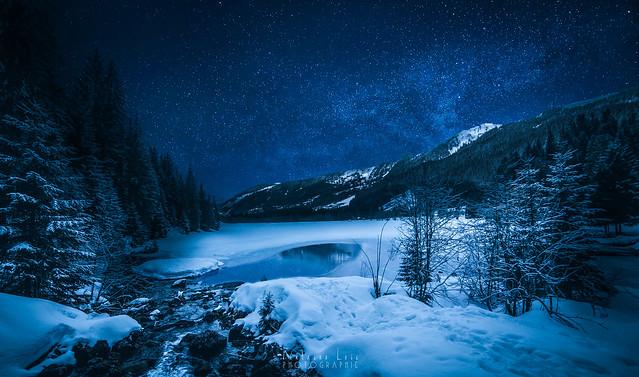Nuit au Lac des Plagnes