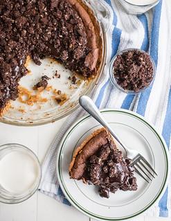 Fudgy Brownie Pie | by Smells Like Home